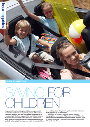 Saving For Children